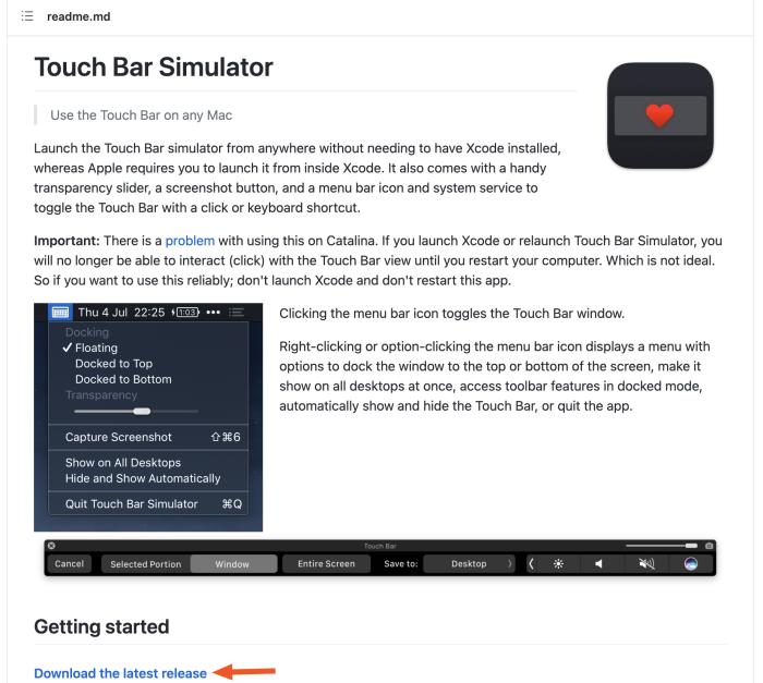 The download option on GitHub