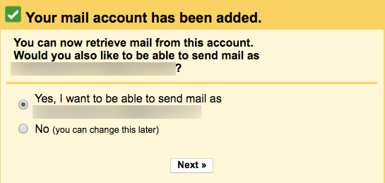 Enable Send Mail As other address in Gmail