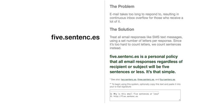 five.sentenc.es