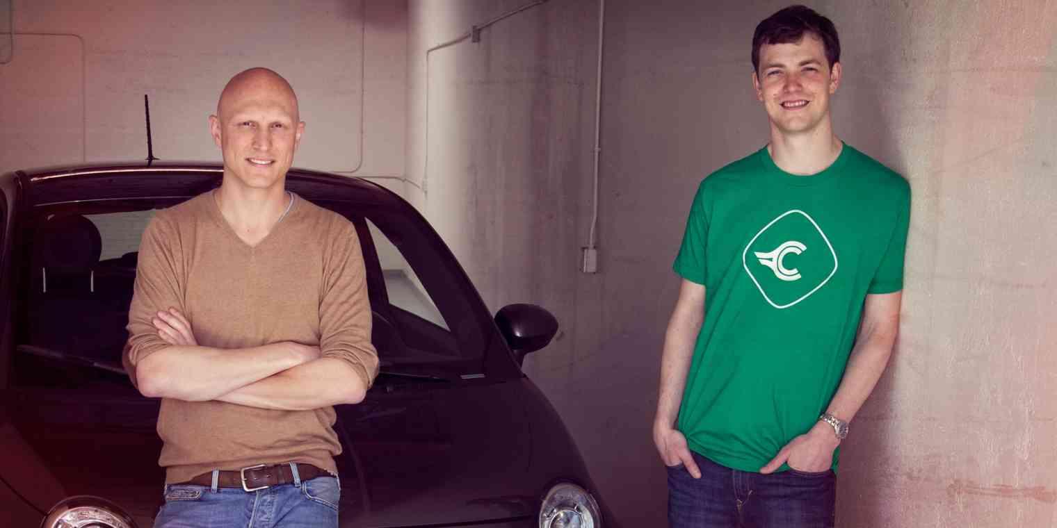 Nicholas Hinrichsen, left, and Chris Coleman, co-founders of Clutch.
