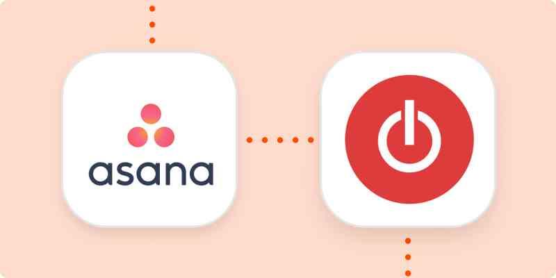 The asana and Toggl logos