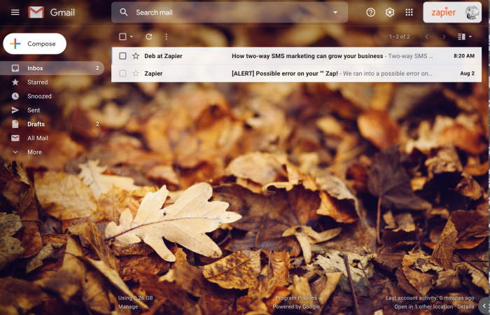 Gmail but clean