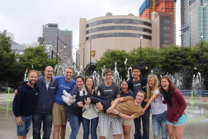 Buffer happiness hero team