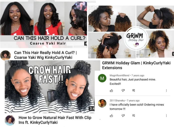 Examples of user-generated content for Vivian's business