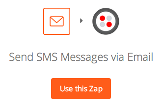 Send SMS Messages via Email