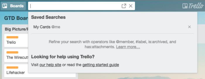 Trello Search