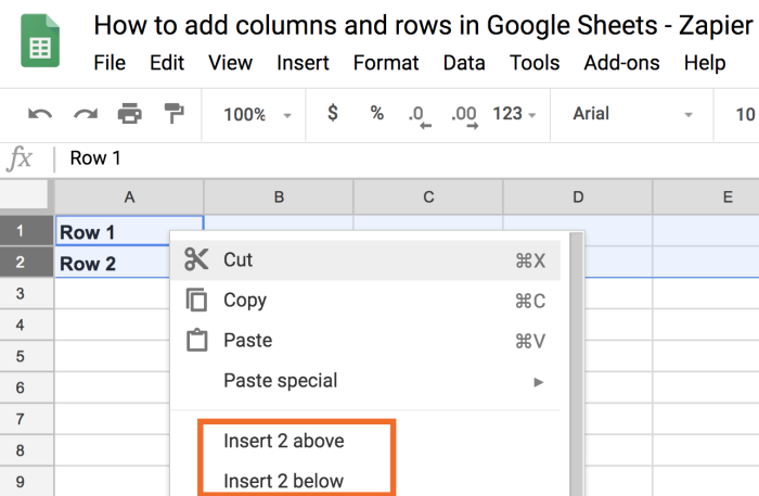 Add multiple columns