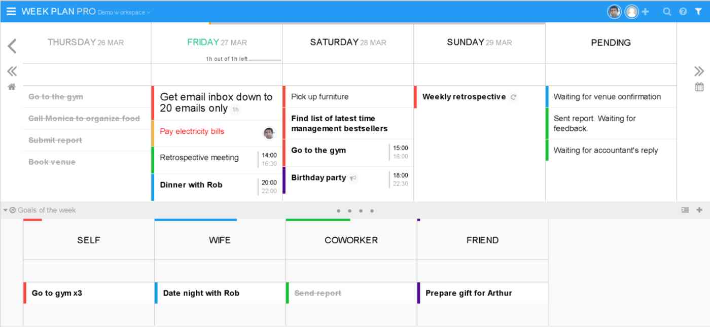 Week Plan
