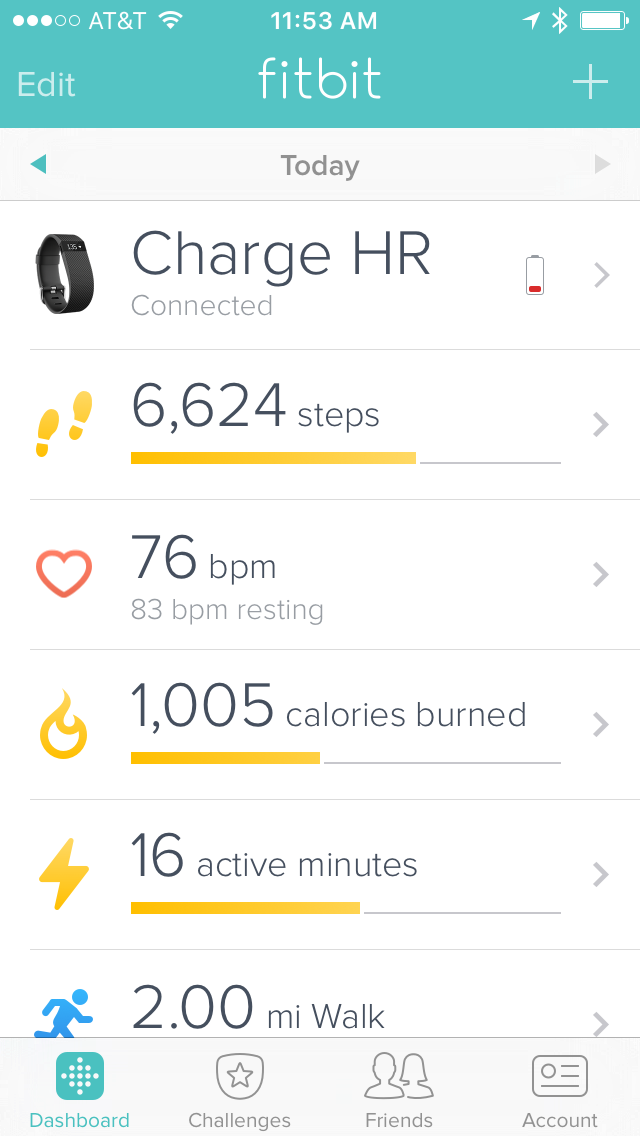 FitBit Mobile