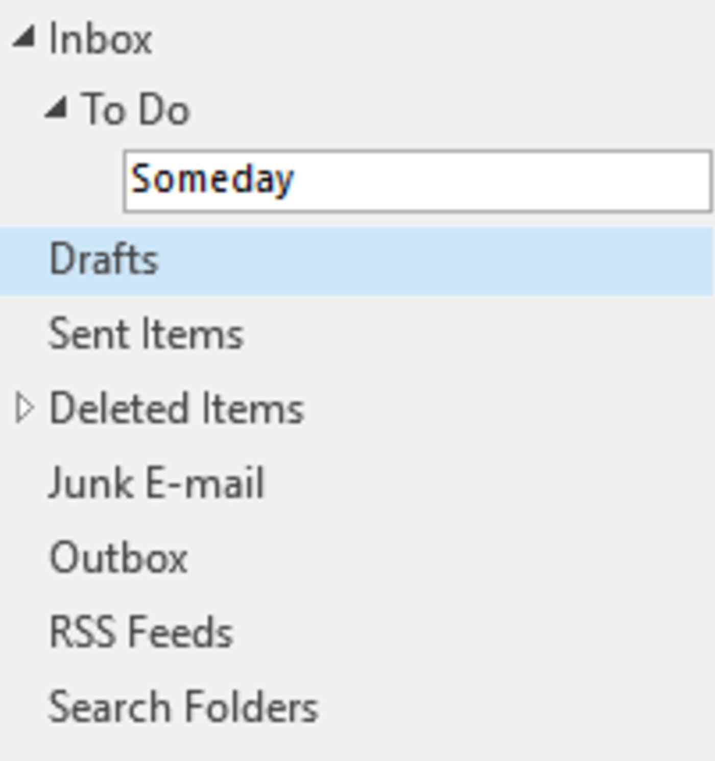 Create sub-folders in your To-Do folder in Microsoft Outlook