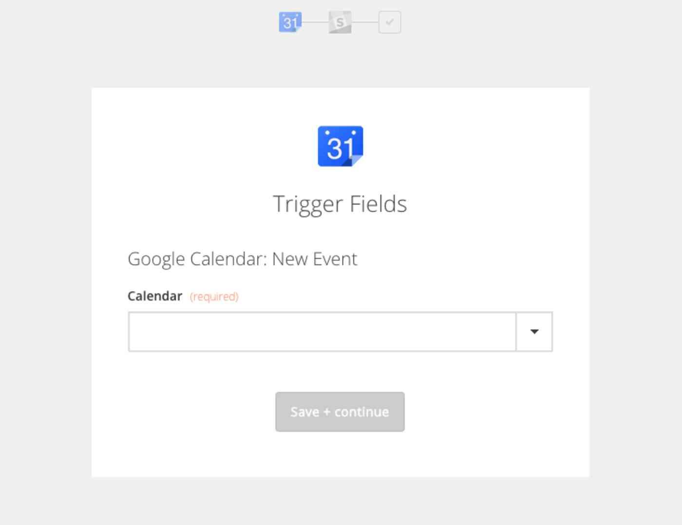 Zapier Slack Google Calendar integration