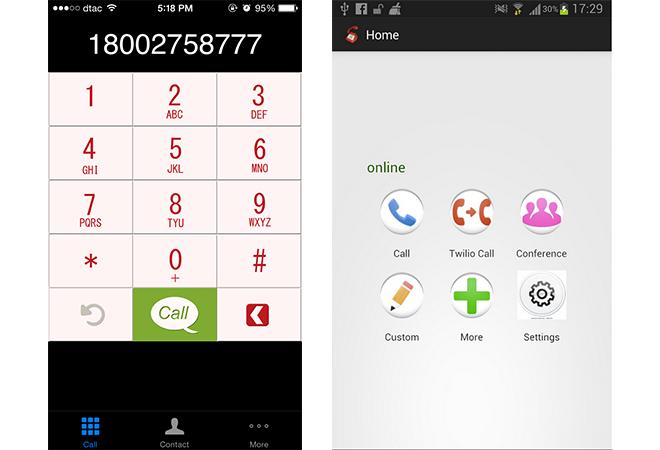 Twilio Phone Apps