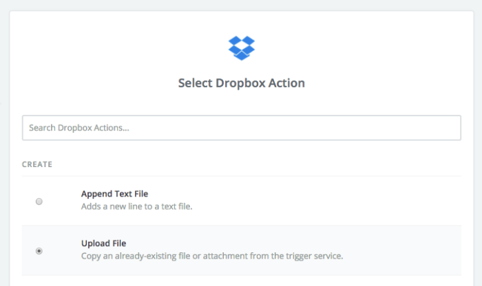 Facebook Groups upload to Dropbox