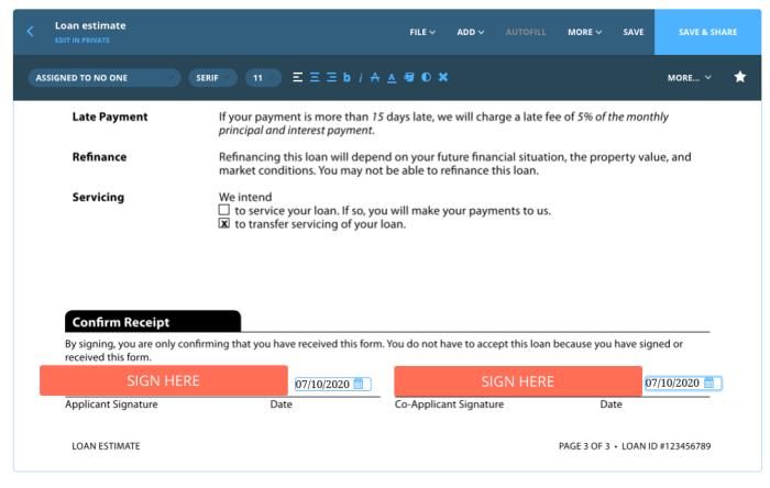 Prepare closing documents for eSignature with Dotloop.