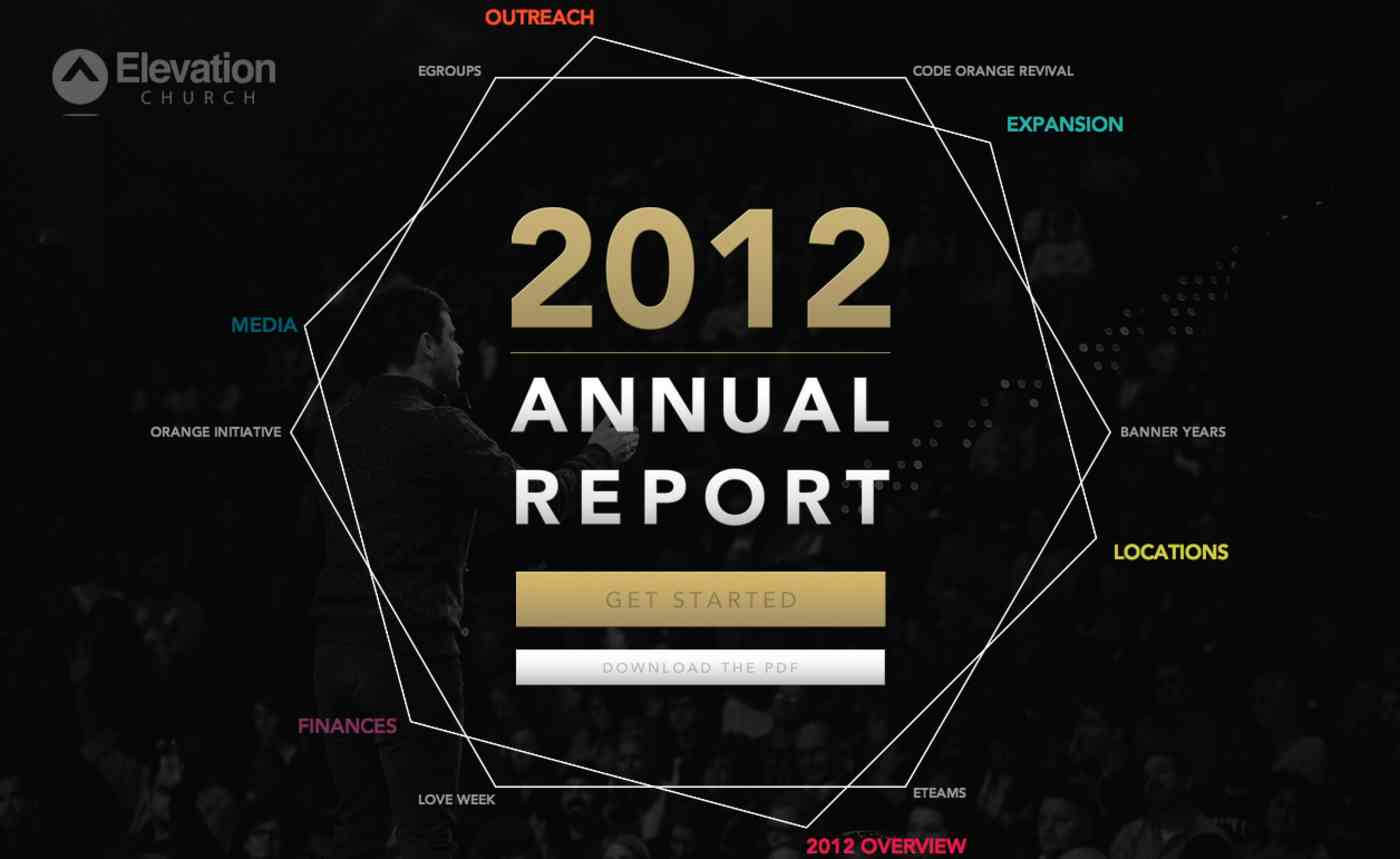Elevation Church report