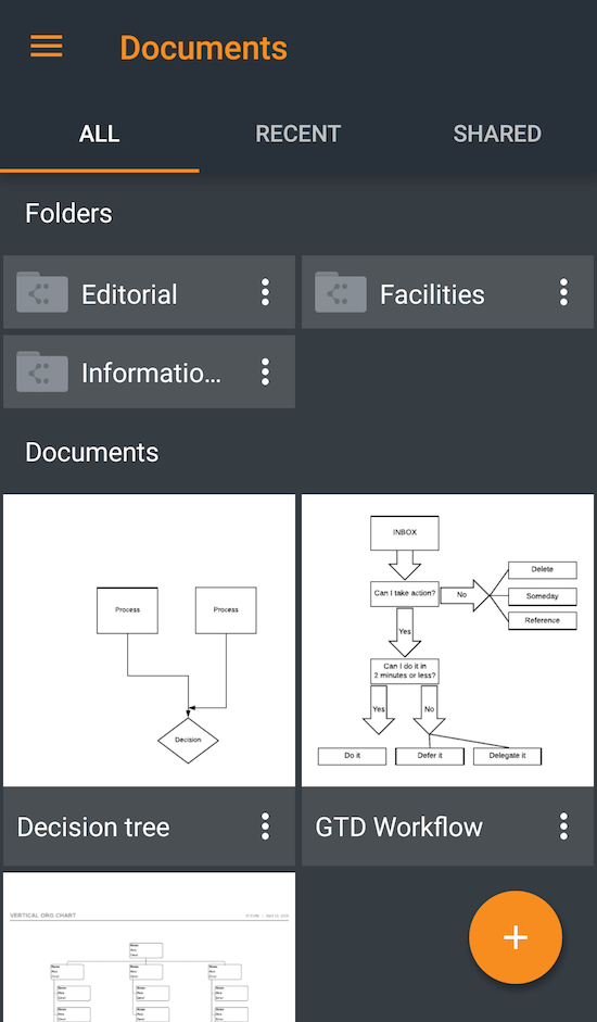 Lucidchart for Android