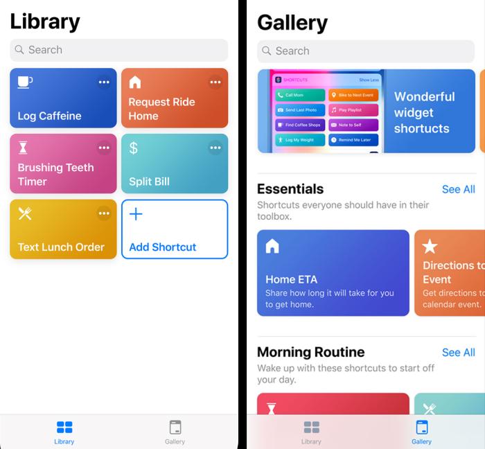 Siri Shortcuts iOS 12