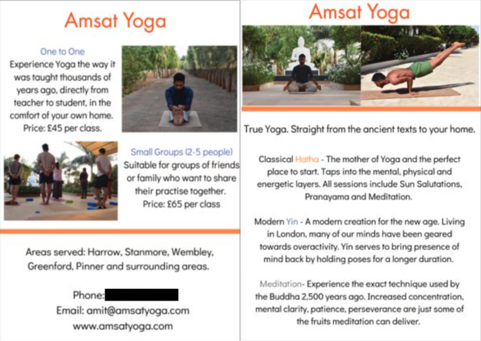 Amit's flyer