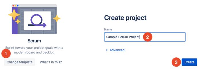 create project in Jira
