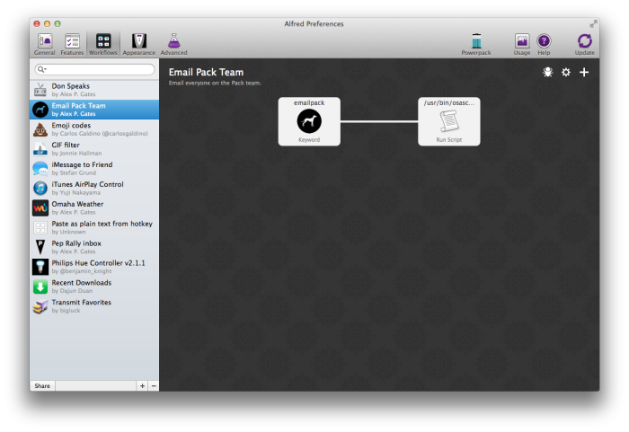Automate with Workflows