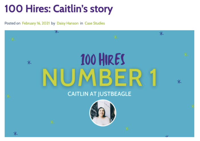 An example of a case study from DigitalGrads