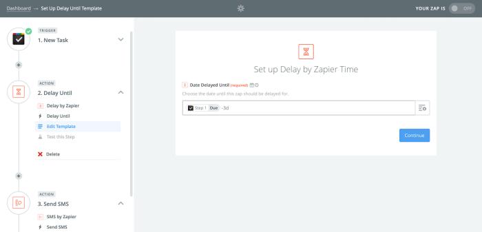 Zapier Task Notification