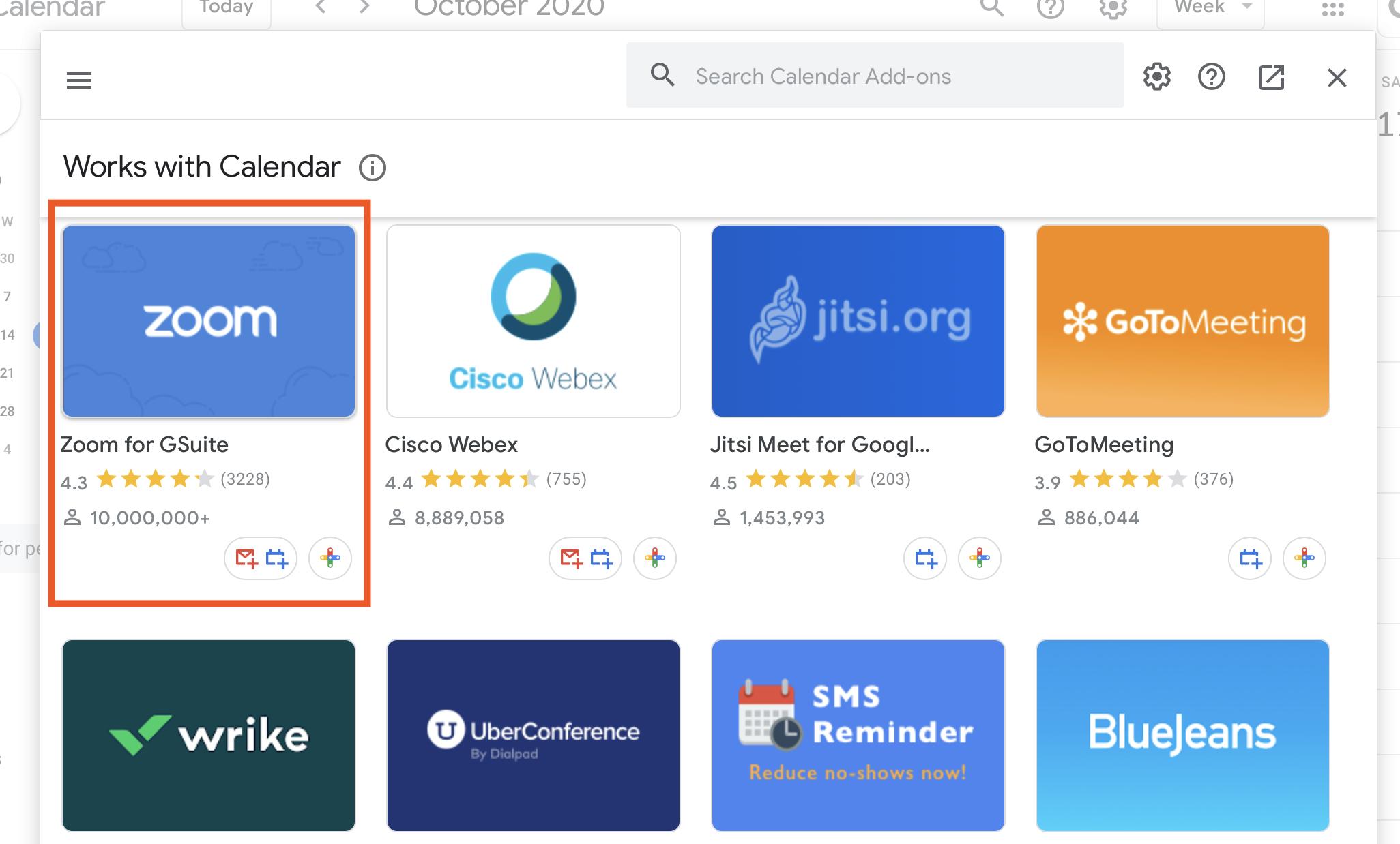 Install Zoom in Google Calendar