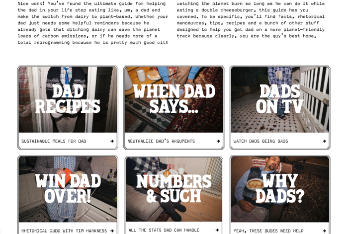Oatly's site helpdad.com