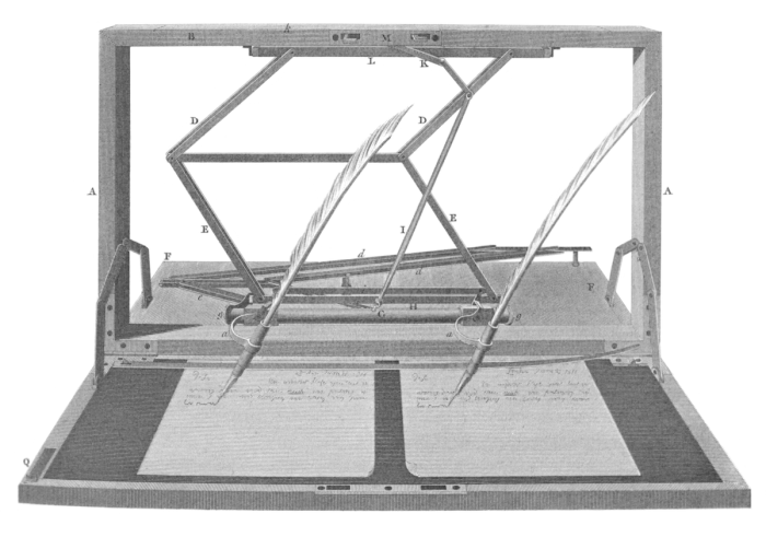 Jefferson writing machine