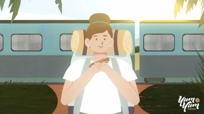 A still from an explainer video from Yum Yum Videos