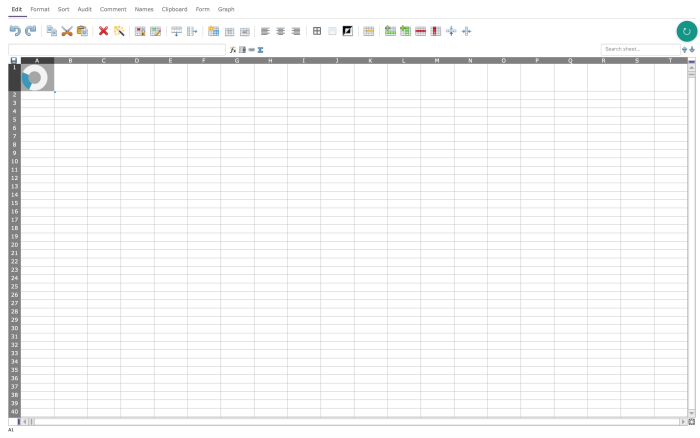 EtherCalc screenshot