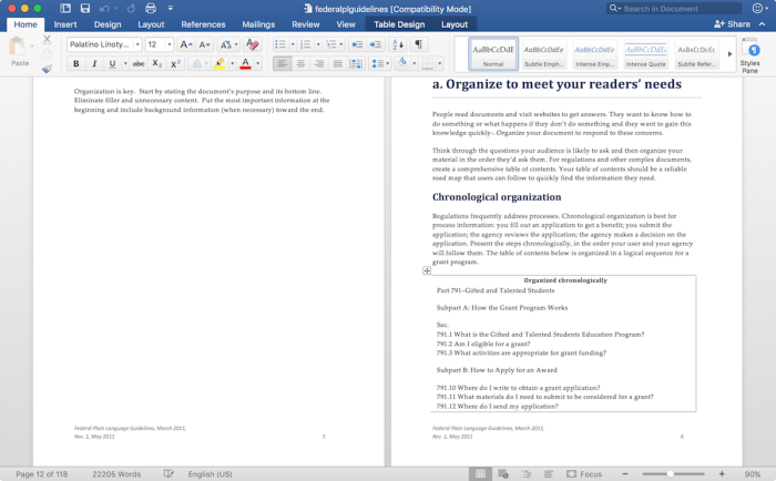 Microsoft Word for Mac from Office 365