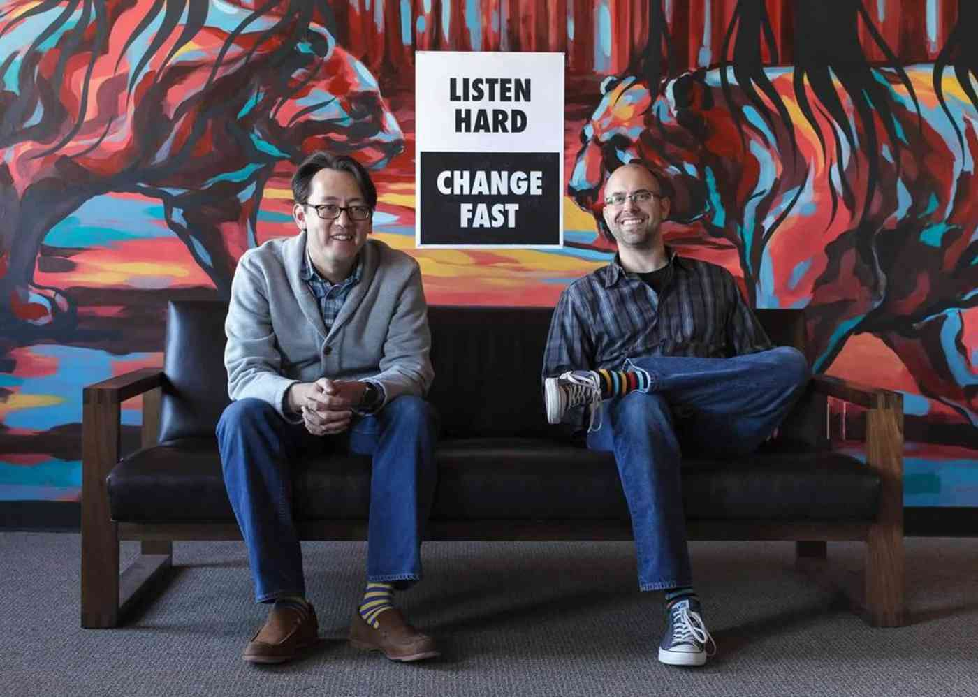 MailChimp co-founders