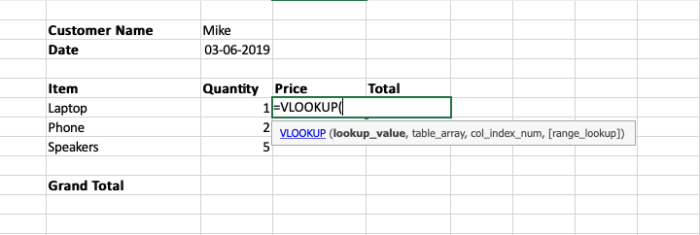 View more about the VLOOKUP function