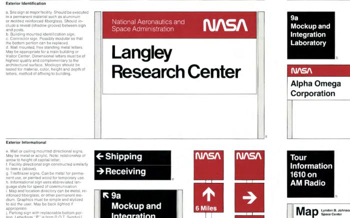 screenshot of NASA 1976 Graphics Standards Manual