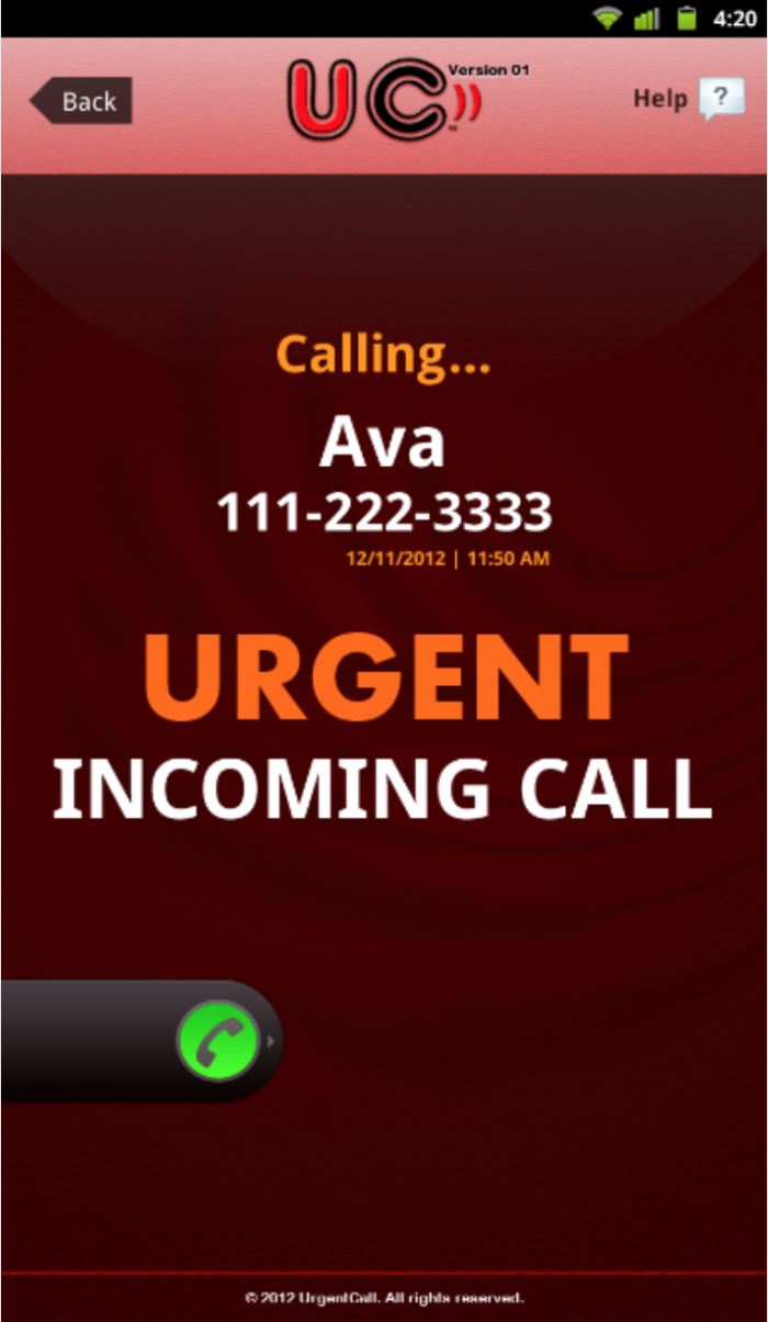 Urgent Call Android