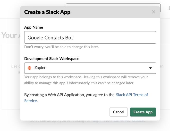 Add Slack App