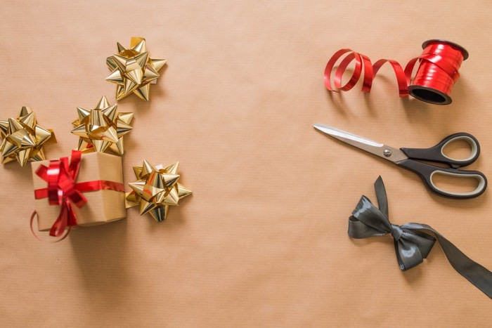 Gift wrapping is a popular service to offer.