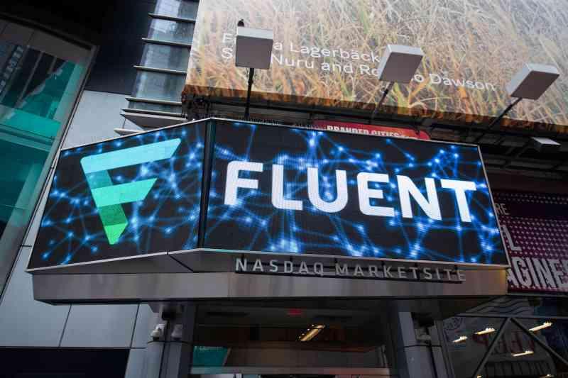 An advertisement for Fluent