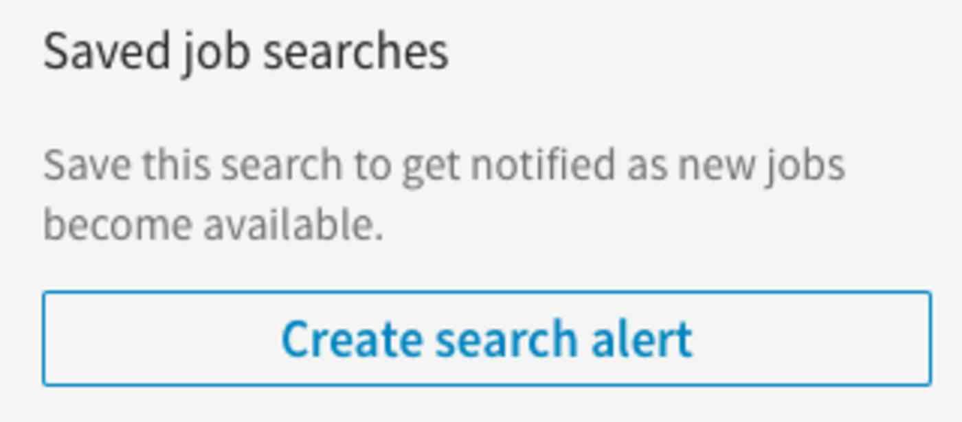 Save LinkedIn Searches