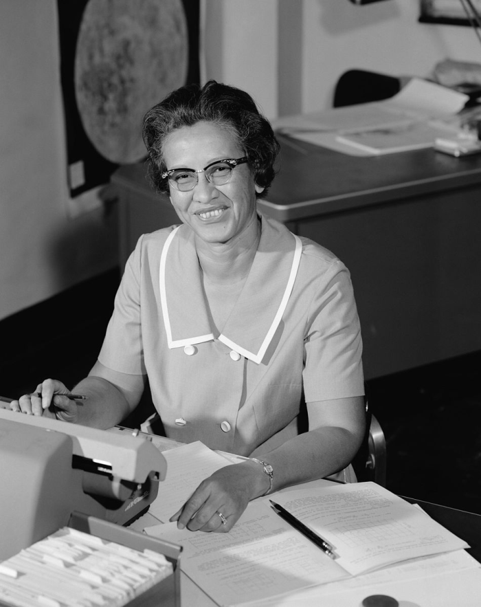 A picture of Katherine Johnson