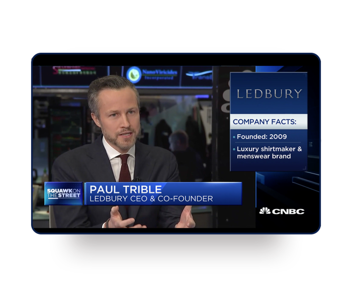 Paul Trible on CNBC