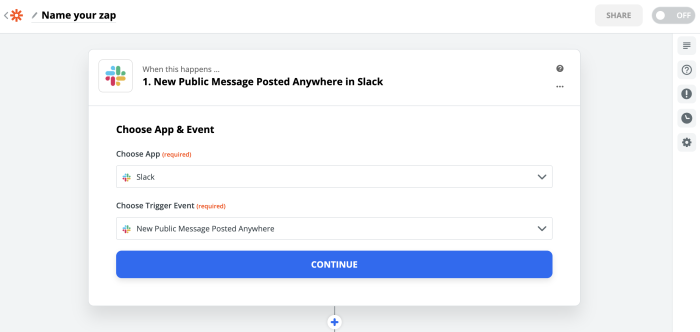 New Message posted anywhere in Slack