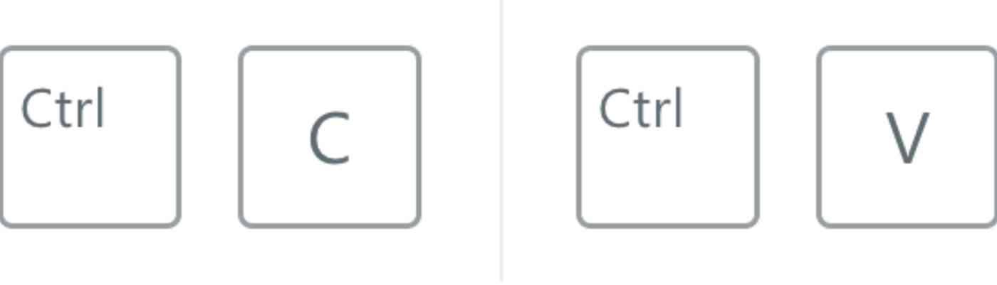 Copy and Paste Windows