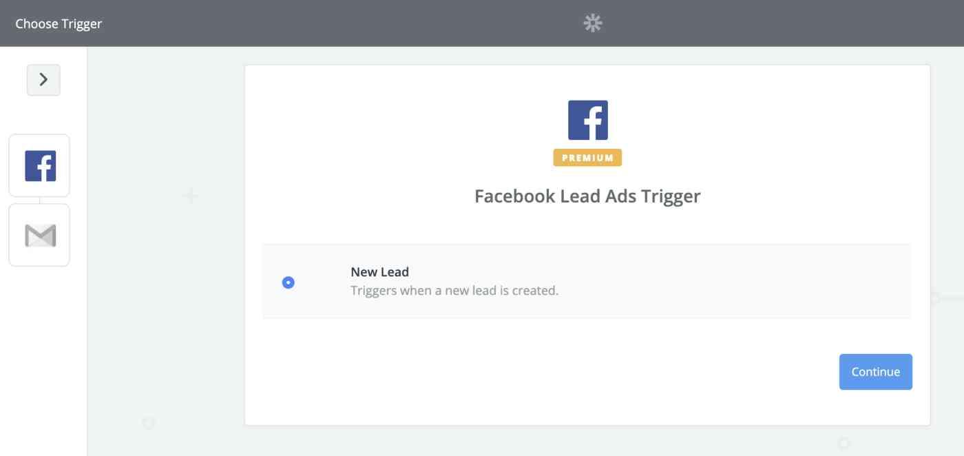 Automate Facebook lead ads