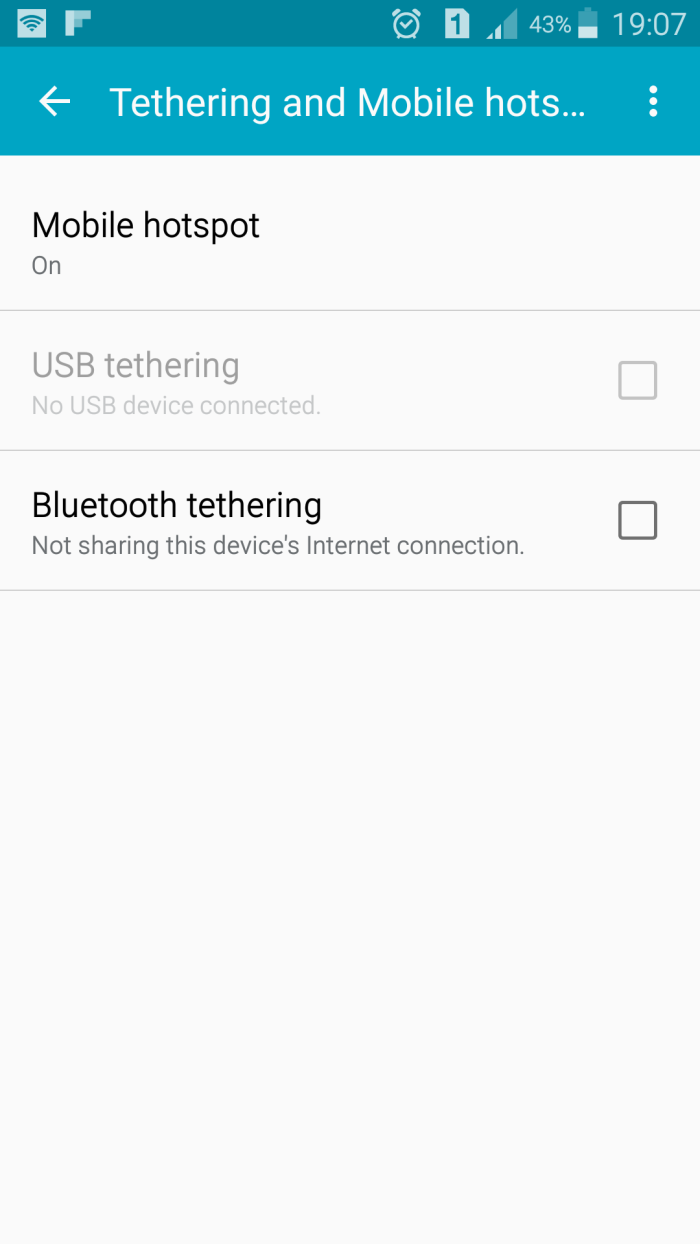 Android Mobile Hotspot