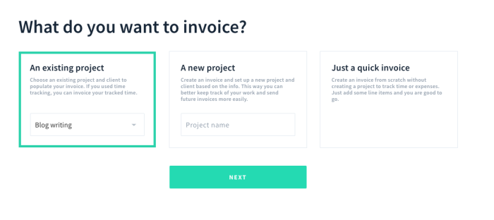 AND.CO invoice builder