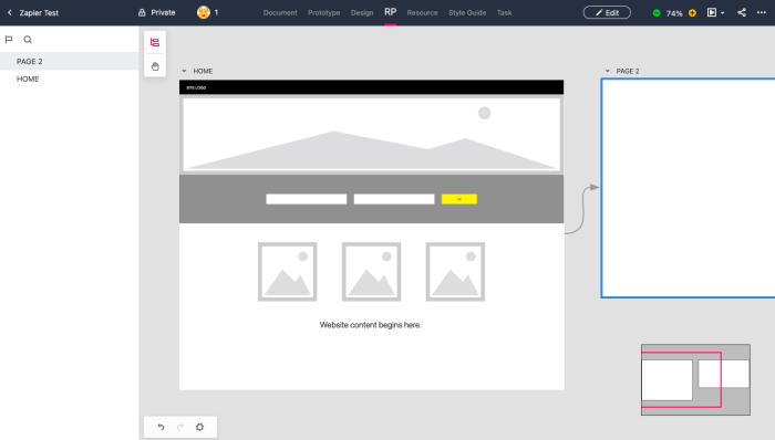 Mockplus interface