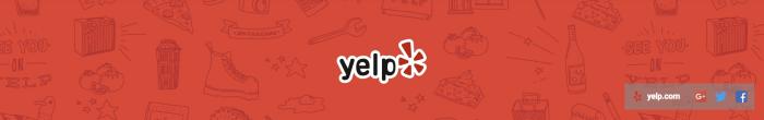 Yelp YouTube banner