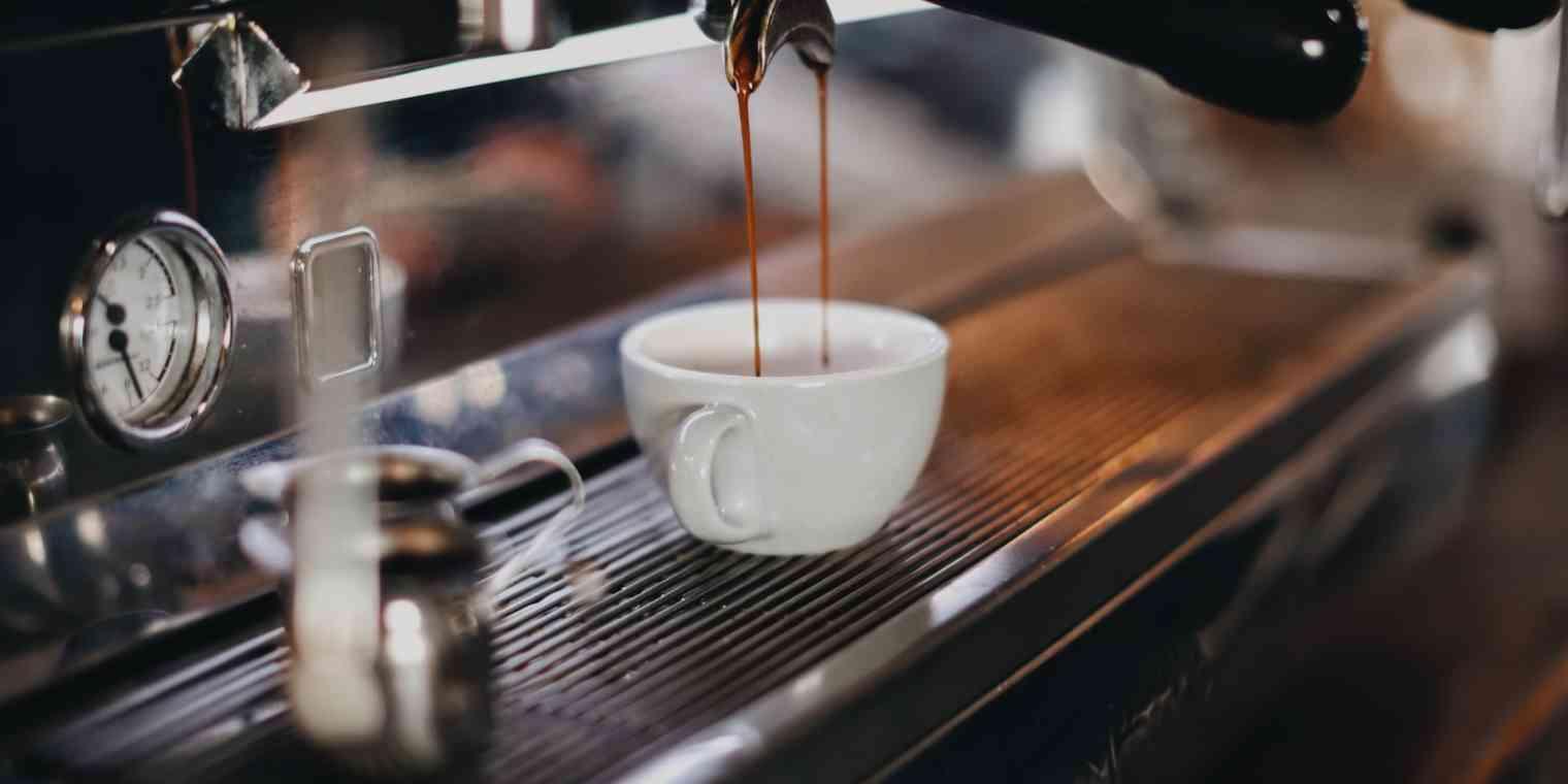 An espresso machine.